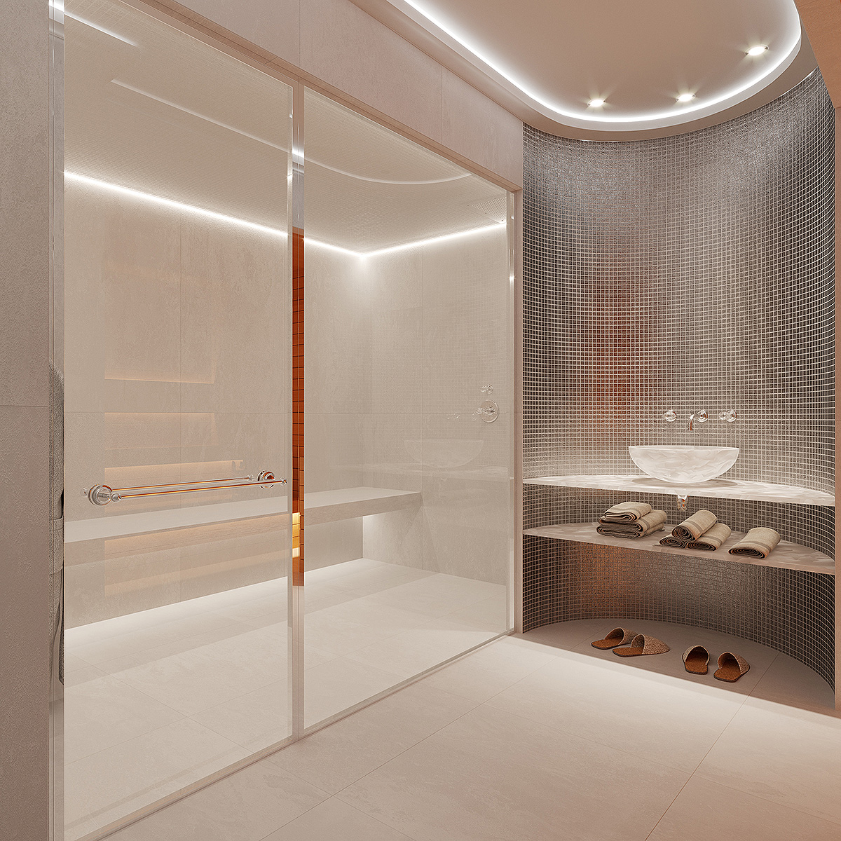 Ambiance spa de luxe by THG BATH CONCEPT