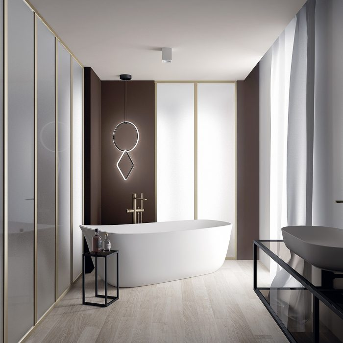Style Contemporain - Vasque et baignoire