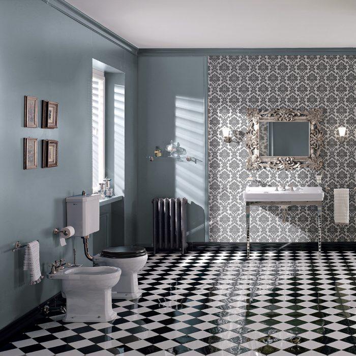 Ambiance générale - Toillette salle de bain de luxe