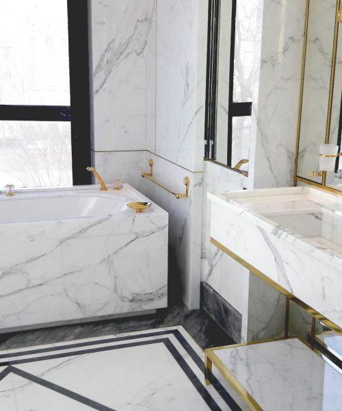 Ambiance salle de bain prestige marbre